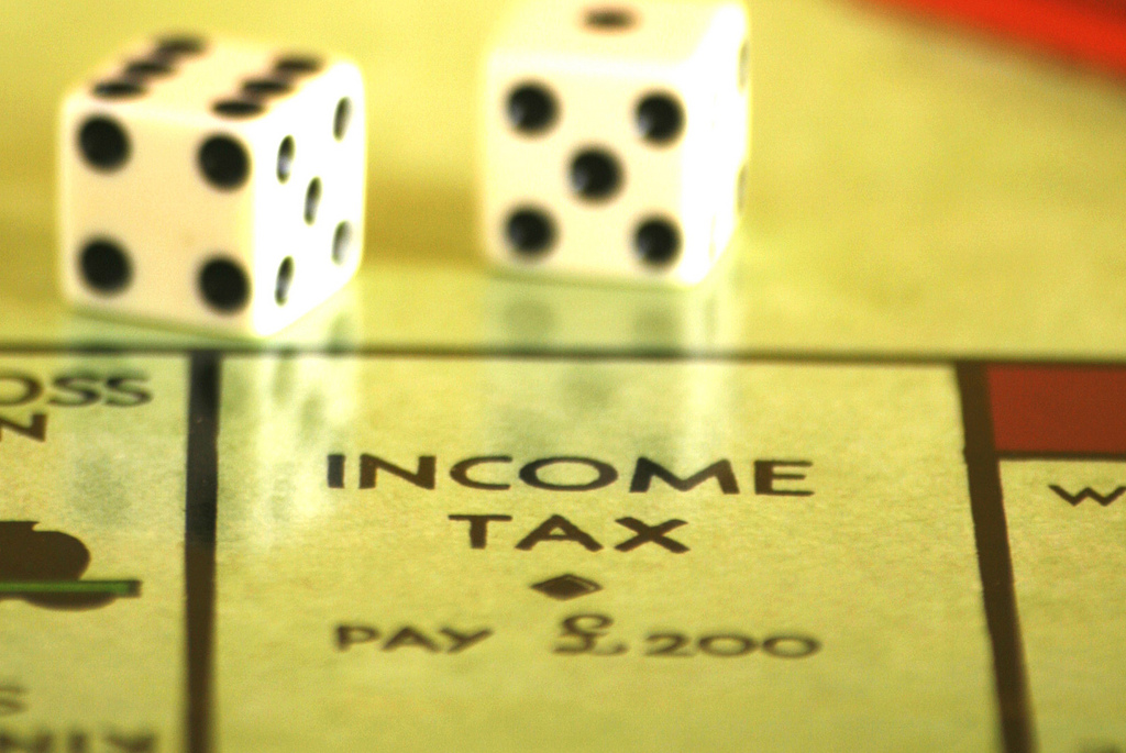 Tax as easy as Monopoly...